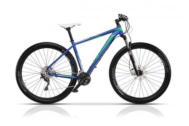 Bicicleta CROSS Euphoria 29 Albastru 480mm