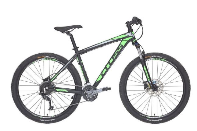 Bicicleta CROSS Grx 927 27.5 Negru/Verde/Gri 510mm
