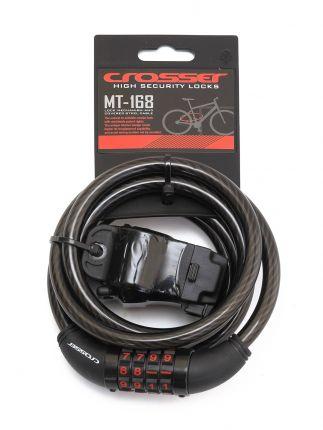 Incuietoare cablu CROSSER MT 168 - Cifru - 10mm*1800mm
