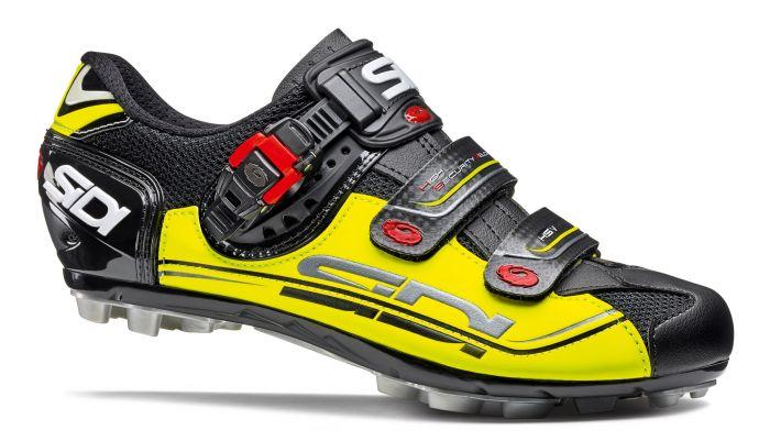 Pantofi MTB SIDI Eagle 7 negru/galben/negru 44
