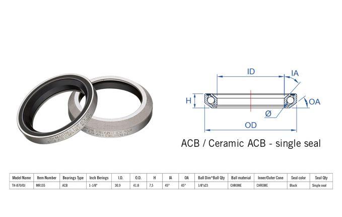 Rulment cuvete FSA TH-870/DJ ACB 45x45 1